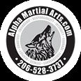 Alpha Martial Arts Logo Round